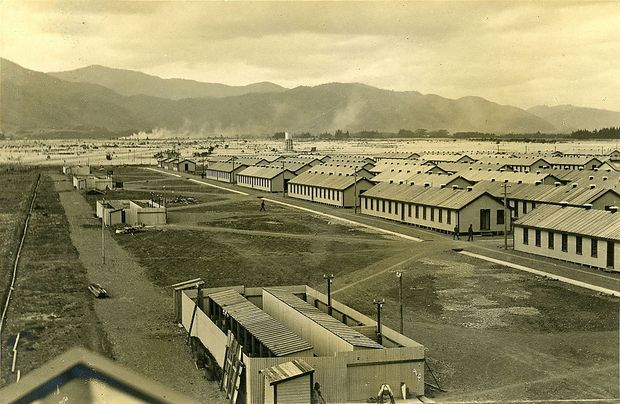 Featherston Camp anno 1916