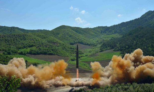China fordert von Nordkorea nach Raketentest Zurückhaltung