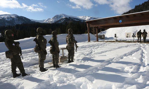 Truppenuebungsplatz Seetaler Alpe