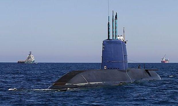 Archivbild: Ein israelisches U-boot der Dolphin-Klasse