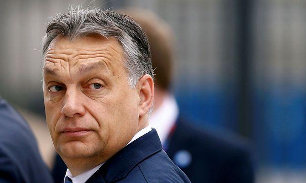 Ungarns Premierminister Viktor Orbán (Archivbild vom August)