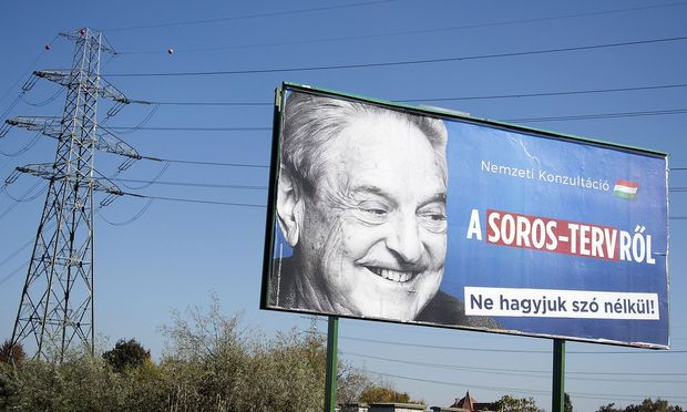US-Milliardär George Soros war nicht nur in Ungarn Thema in der Politik.
