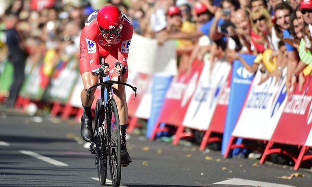 Radsport: Christopher Froome bei Vuelta klar auf Siegkurs - Vorentscheidung am Dienstag?