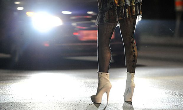 Symbolbild Straßenprostitution.