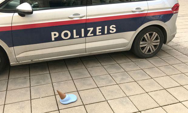 """Ein Bild aus dem """"PolizeiS""""-Projektentwurf. / Bild: (c) Markus Hofer"""