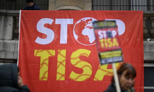 SWITZERLAND-ECONOMY-TRADE-DEMO-TISA