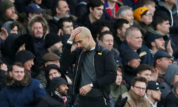 Manchester City Coach Pep Guardiola