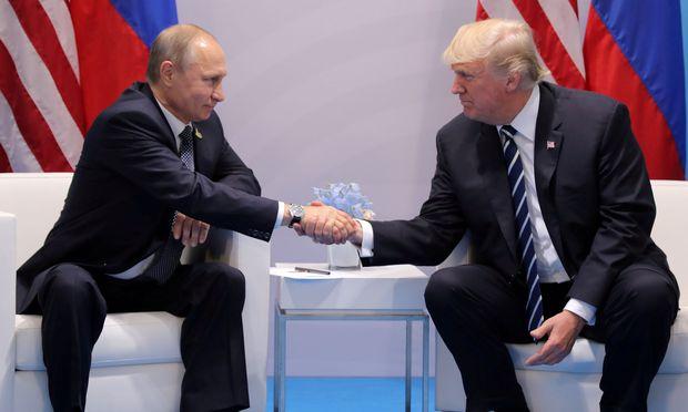 Wladimir Putin und Donald Trump / Bild: REUTERS