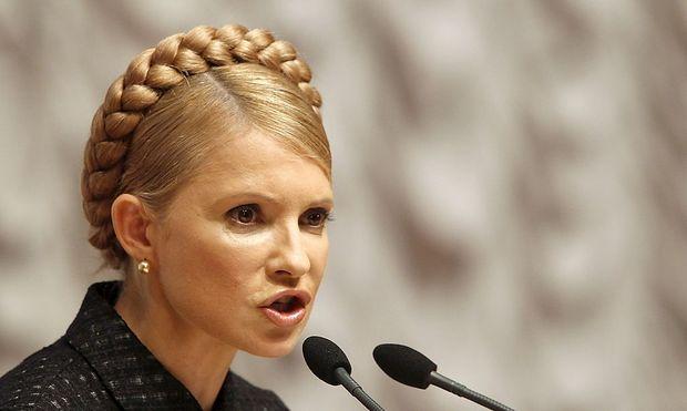 Hat für Berlin Grenzen überschritten: Ex-Premierministerin Julia Timoschenko
