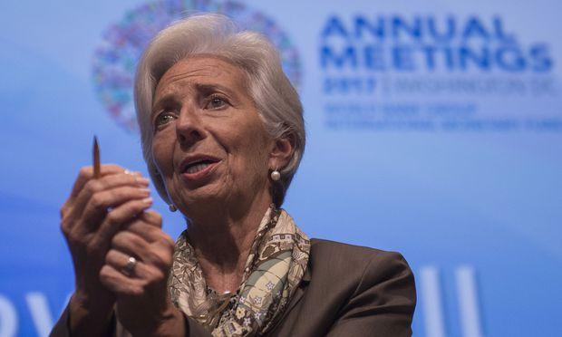 IWF-Chefin Christine Lagarde fordert mehr Globalisierung