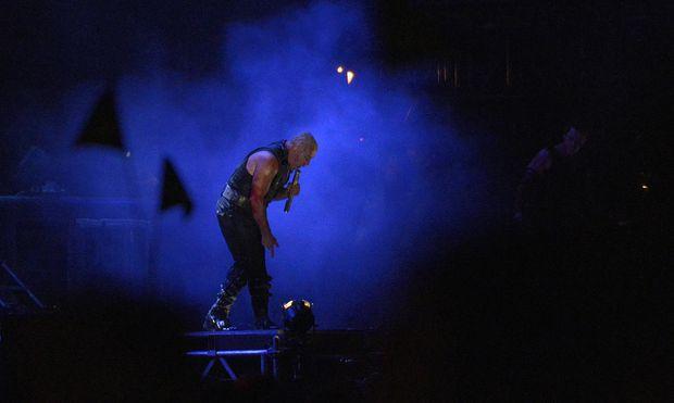 Till Lindemann of Rammstein performs during the 24th Wacken Open Air Festival 2013 in Wacken