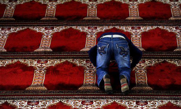 Moschee in Wien.