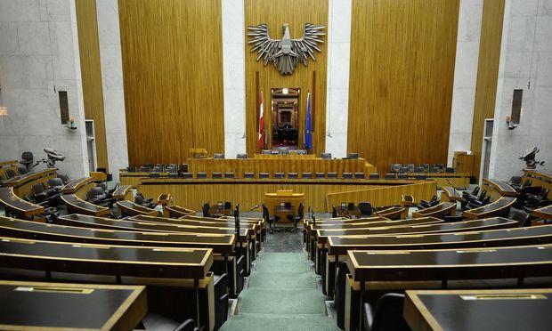 Der denkmalgeschützt Parlamentssaal