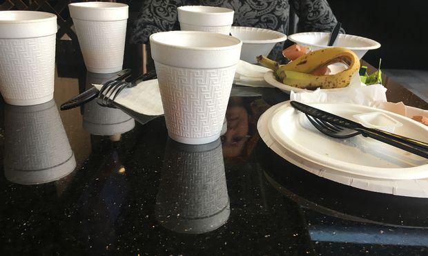 Frühstücken in New York