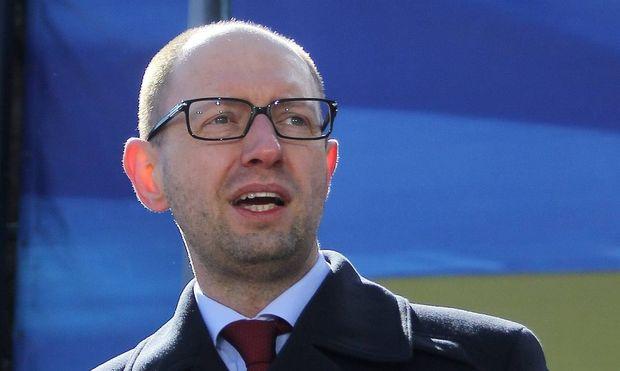 ITAR TASS KIEV UKRAINE MARCH 30 2014 The parliament approved Ukrainian prime minister Arseniy