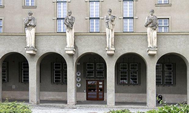 Archivbild: Das Landesgericht Krems