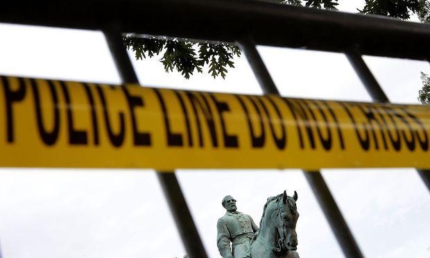 US-Bundesstaat Virginia Ausschreitungen bei Ku Klux Klan-Kundgebung