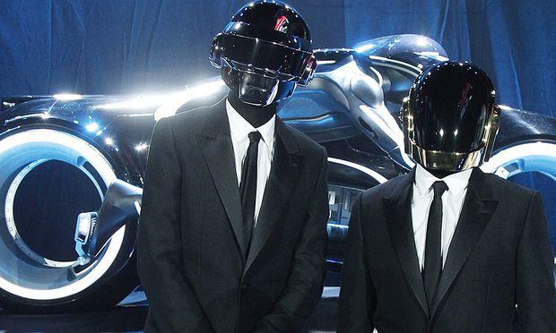 Das maskierte Duo Daft Punk.