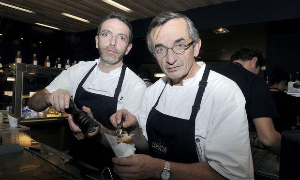 Spitzenkoch Sebastien Bras und sein Vater Michel: keine Sterne mehr