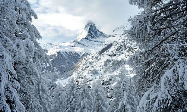 Souverän. Kaum ein Berg weltweit ist öfters Bildmotiv als das Matterhorn. / Bild: (c) Kurt Müller
