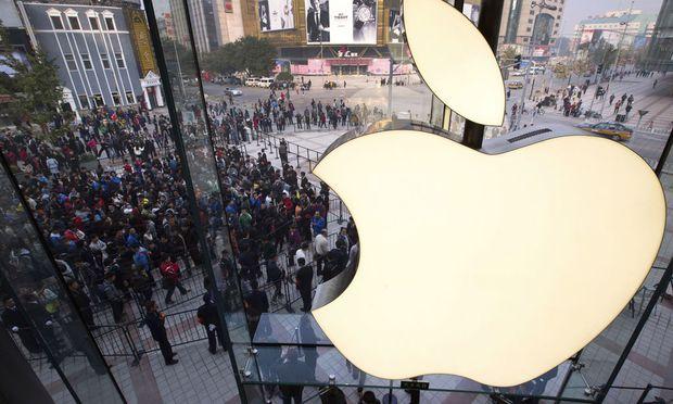 Unternehmen Apfel Milliarden Dollar