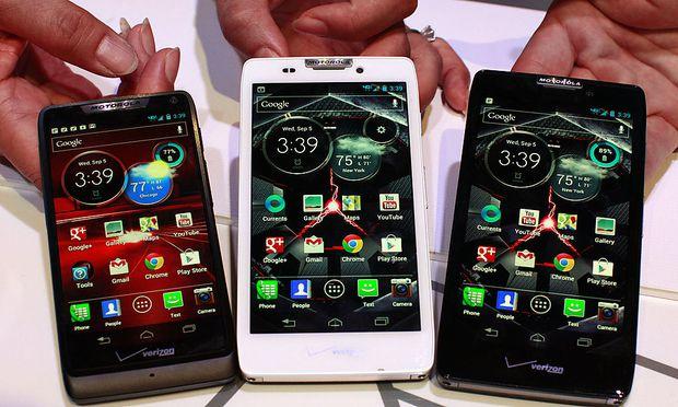 GoogleTochter Motorola stellt AndroidSmartphones