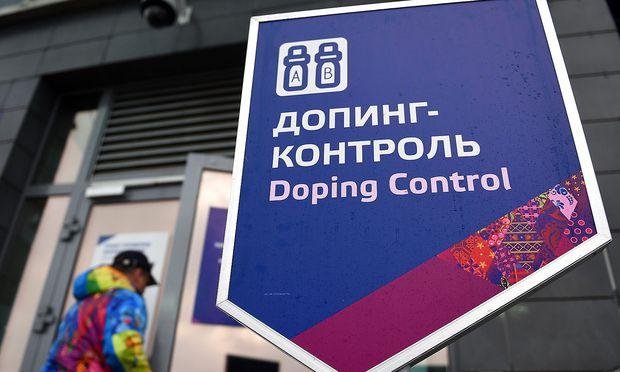 Dopingkontrolle bei Olympia in Sotschi