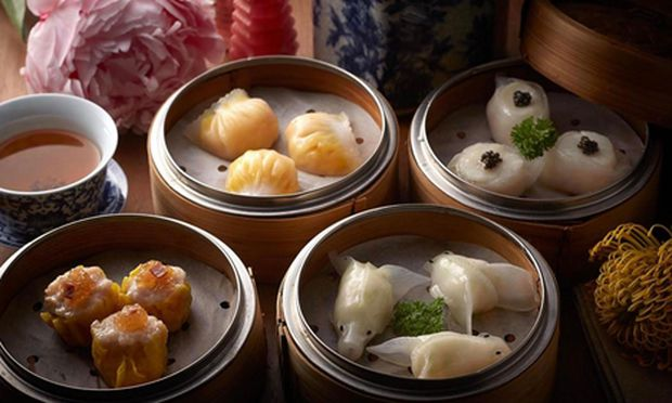 Dim Sum Dinner bei Duddell's in Hongkong