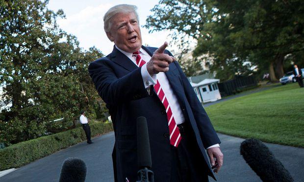 Auch mit CNN hatte Trump schon heftige Auseinandersetzungen.