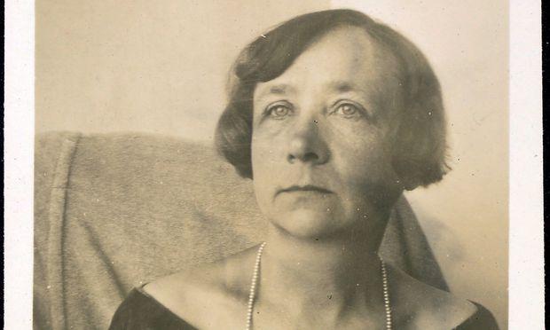 Gabriele Münter. Sicherte München Bilder ihres Lebensgefährten Kandinsky.