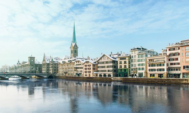 Zürich. Für Sibylle Berg ist die Schweiz ein Sehnsuchtsland, Zürich eine Oase der Zivilisation und Ruhe. Ob das die Zürcher auch so sehen? / Bild: (c) Christian Beutler/Zürich Tourismus