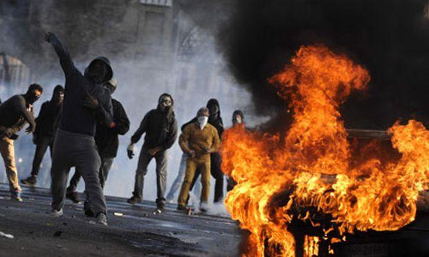 Proteste Chaos Festnahmen York