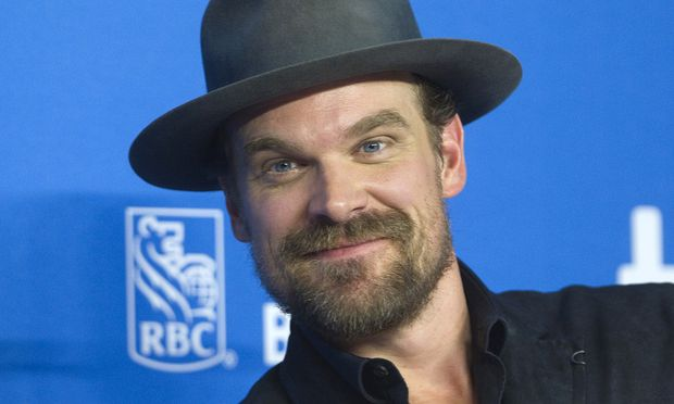 David Harbour attends a news conference to promote the film ´Black Mass´ at TIFF the Toronto International Film Festival in Toronto