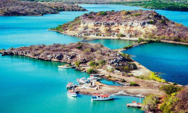 Sonnig. Curaçao ist der wärmste und trockenste Fleck der Niederlande.