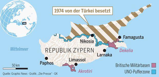 Zypern Teilung