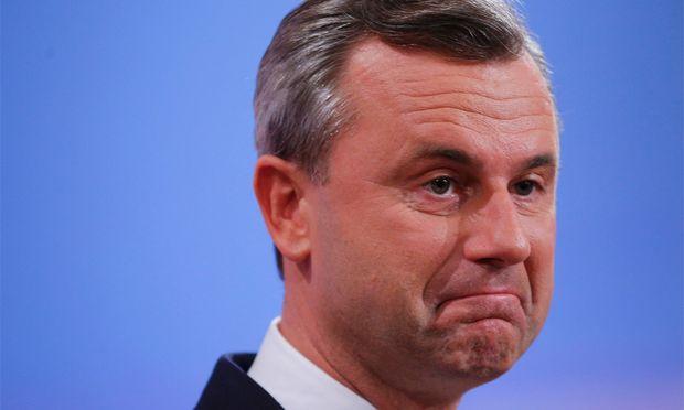 Norbert Hofer verliert endgültig.