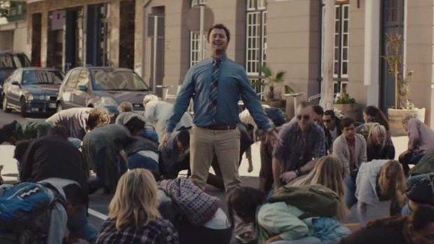 Szene aus Szene aus dem ARAG-Werbevideodem ARAG-Werbevideo