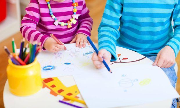 Der Kindergarten wird im Burgenland kostenfrei. (Symbolbild)