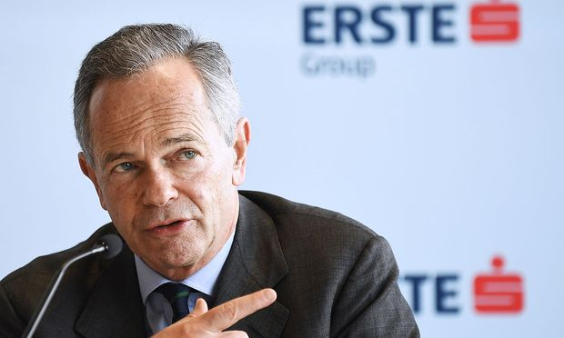 Erste-Group-Chef Andreas Treichl