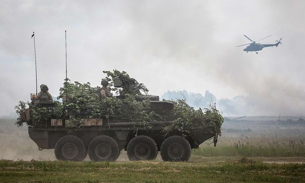 Gemeinsame Nato-Truppenübungen. (Symbolfoto)