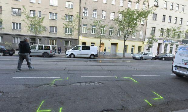 Tatort Jägerstraße: Ein Mann wurde durch einen Kopfschuss getötet.
