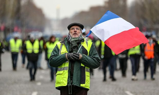 Erneut gehen Gelbwesten in Frankreich auf die Straße