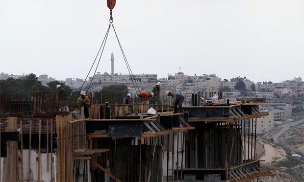 Israel will Siedlungsbau noch