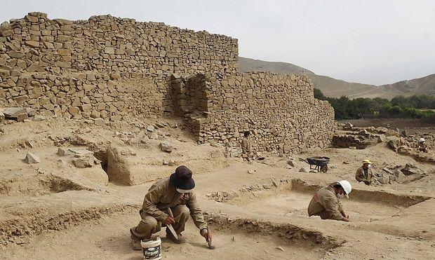 Peru Archaeologen entdeckten 5000
