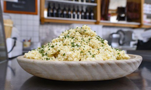 Eine Spezialität des Tiroler Brixentals: Brodakäse.