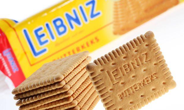 """Der Leibniz-Butterkeks von Bahlsen: """"Nur echt mit 52 Zähnen"""" - und Butter. / Bild: (c) imago stock&people"""