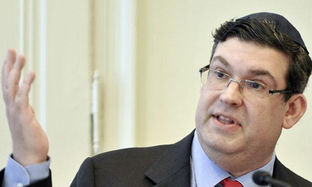 Oskar Deutsch bei seiner Antrittspressekonferenz am Mittwoch in Wien