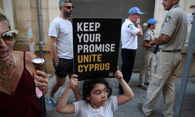 Lange Nacht bei Zypern-Verhandlungen: UNO-Generalsekretär vermittelt