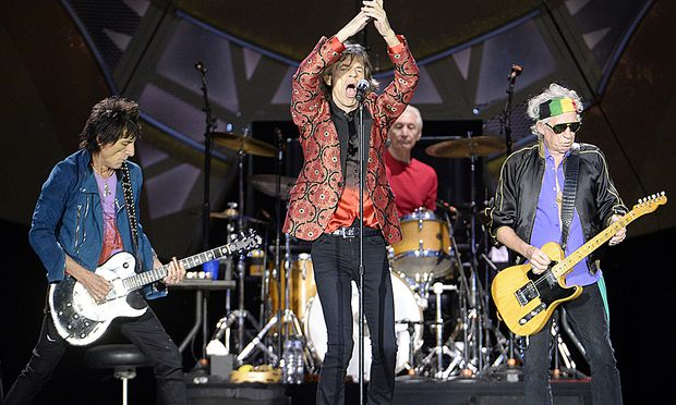 THE ROLLING STONES ON FIRE VIENNA