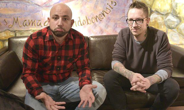Christopher Seiler und Bernhard Speer geben ihr zweites Album als Seiler und Speer heraus